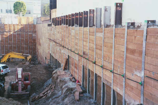 Shoring Posts For Concrete Walls : Solder wall shoring